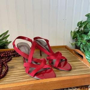 Predictions strappy sandals Red Size 8.5